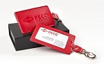 PECO Pallet Red Luggage Tag